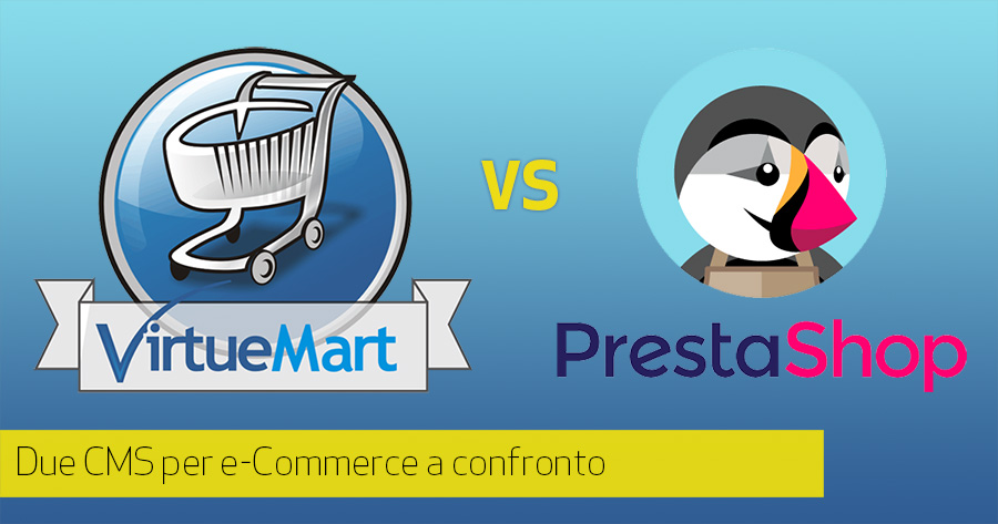 CMS per e-Commerce: PrestaShop VS Virtuemart