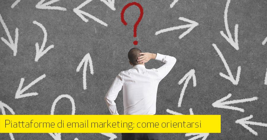 Email Marketing: 5 elementi utili alla scelta della piattaforma