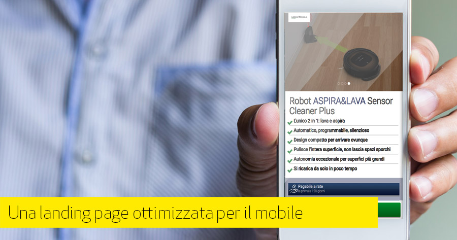 Best practice per una landing page mobile efficace