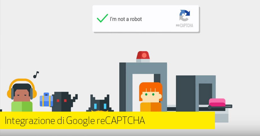 e-Commerce: integrare Google reCAPTCHA nei form
