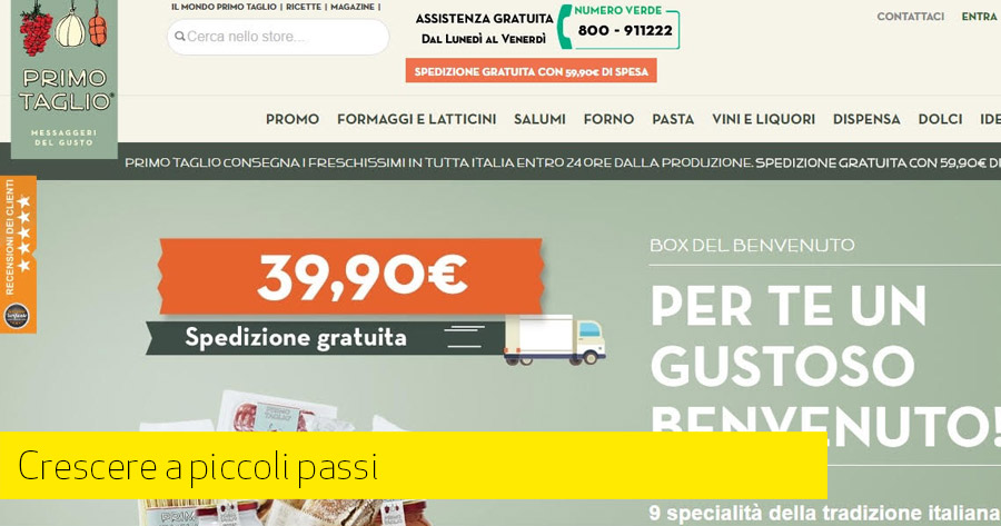 La crescita di un e-Commerce