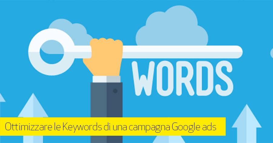 Utilizzo e corrispondenza di Keywords nelle campagne di ricerca Google ADS