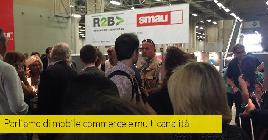 SMAU Bologna 2015: mobile commerce e multicanalità