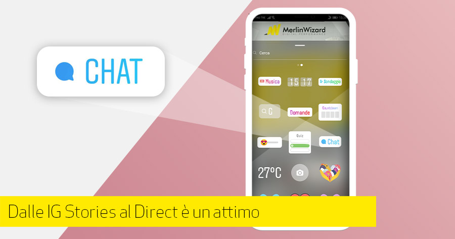 Join Chat: l'ultima novità delle Instagram Stories