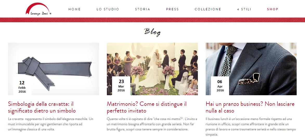 Zani blog
