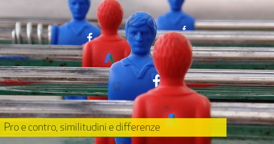 AdWords VS Facebook Ads: un confronto