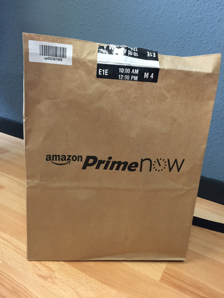 Pacco busta - Amazon Prime Now