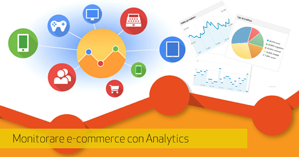 Google Analytics: monitoraggio avanzato e-Commerce