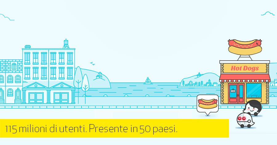 Waze e il marketing di prossimità