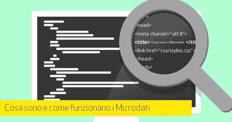 Cosa sono e come funzionano i Microdati