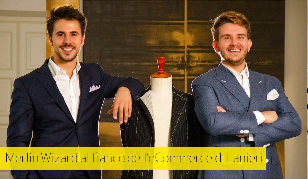 Lanieri e-Commerce sceglie Merlin Wizard per la Lead Generation