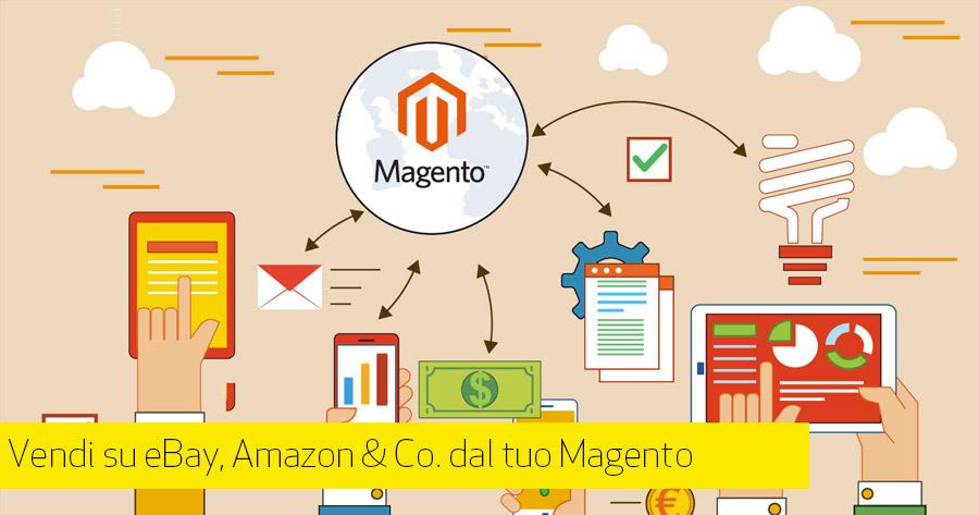 Integrare Amazon e eBay su Magento: porta il tuo eCommerce sui marketplace