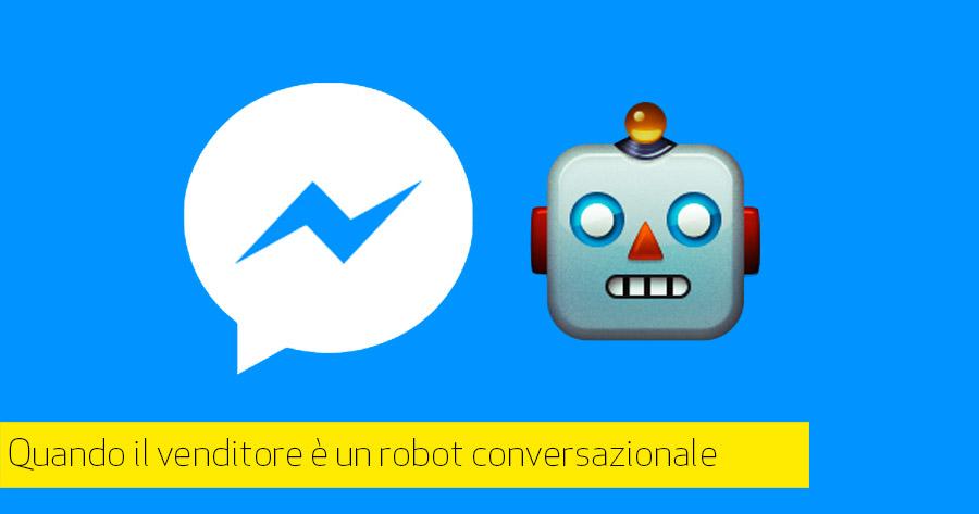 L'evoluzione dell'e-commerce passa attraverso i Chatbot