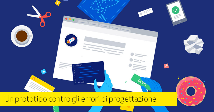 Prototipi e user experience per i nostri e-Commerce