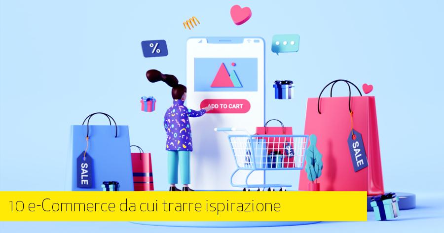I migliori design di siti Web di e-commerce