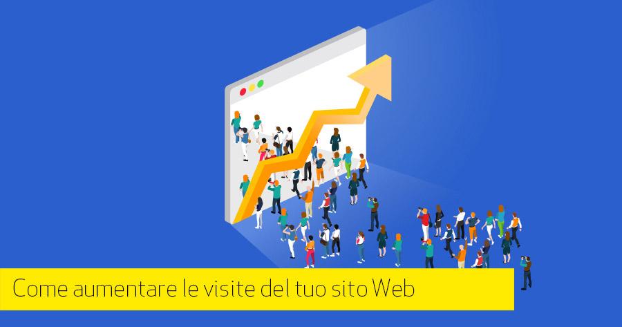 Come aumentare le visite del tuo sito Web