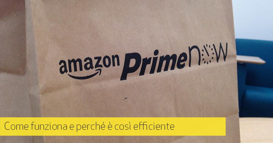 Amazon Prime Now: l'e-Commerce diventa servizio vero