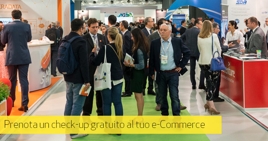 e-Commerce Checkup: conosciamoci al Netcomm e-Commerce Forum 2016
