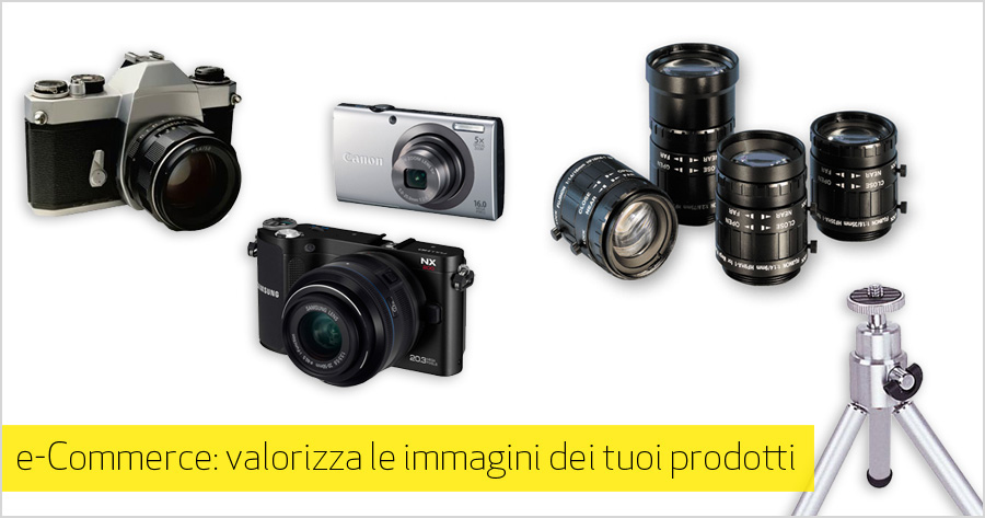 Realizzare foto di qualità per l'e-Commerce