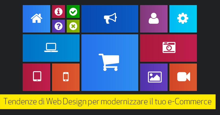 Web design per e-Commerce: alcune tendenze del 2015