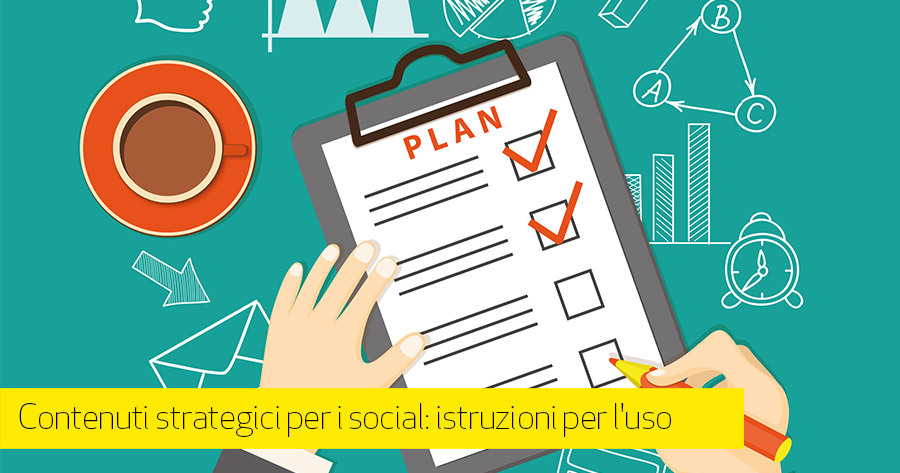 Piano editoriale social: rendilo efficace in 5 step