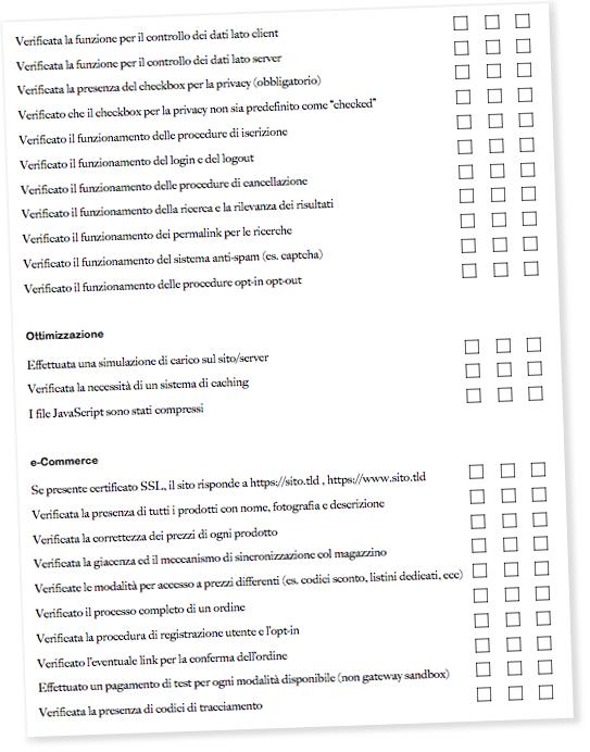 e-Commerce Website Launch Checklist