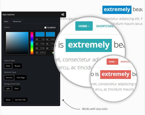 e-commerce:: colori