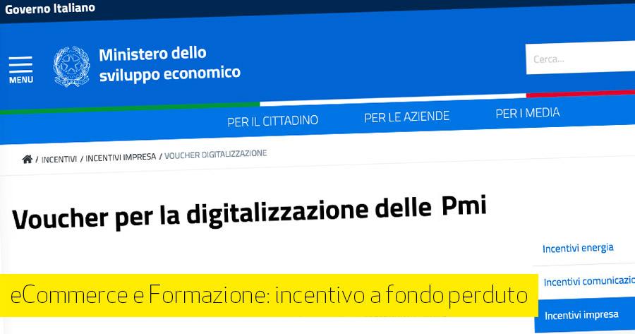 10.000 € per il tuo eCommerce: con il voucher per la digitalizzazione PMI