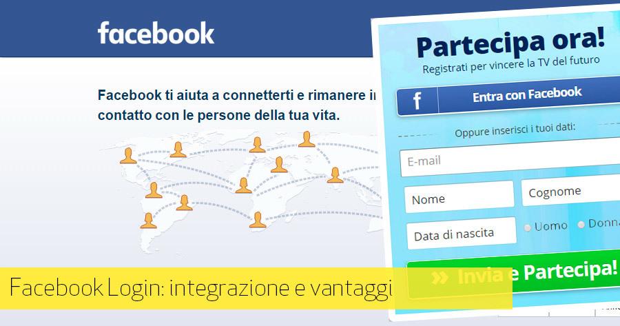 Login con Facebook: come integrare il social login sul tuo sito