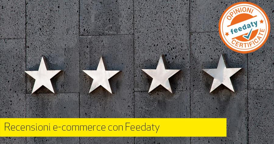 Feedaty: recensioni nel tuo e-commerce