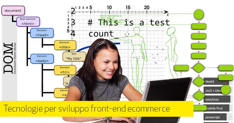 Tecnologie per lo sviluppo front-end di un eCommerce