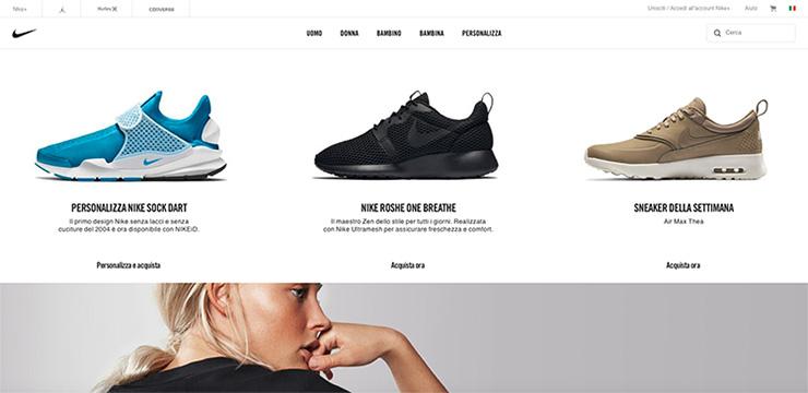 buon layout e-commerce