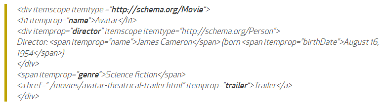 microdati codice movie