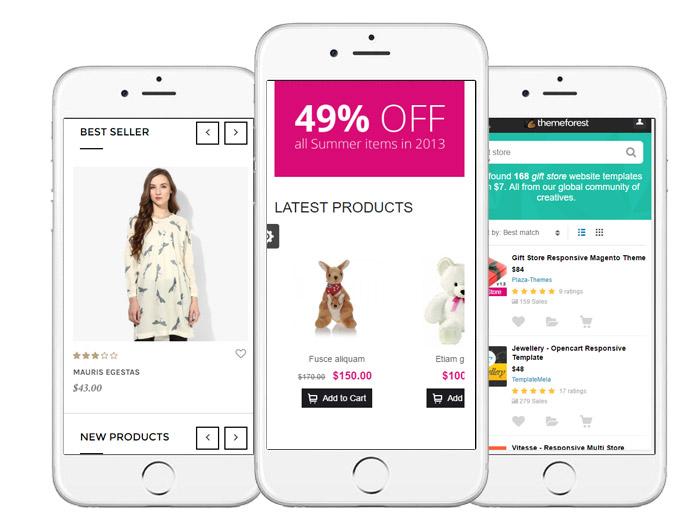 e-commerce:: deign mobile friendly