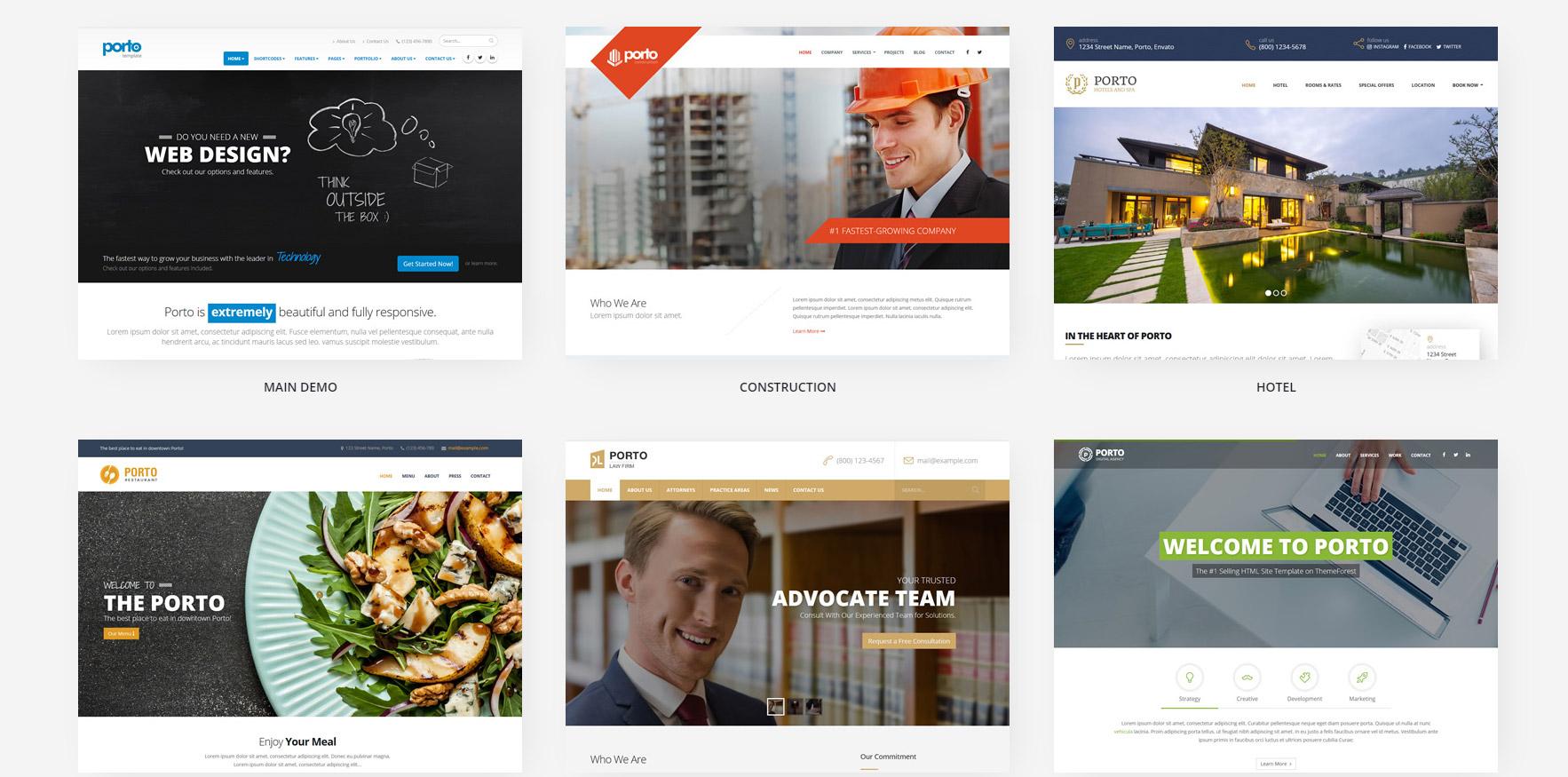 e-commerce: Multi purpose template