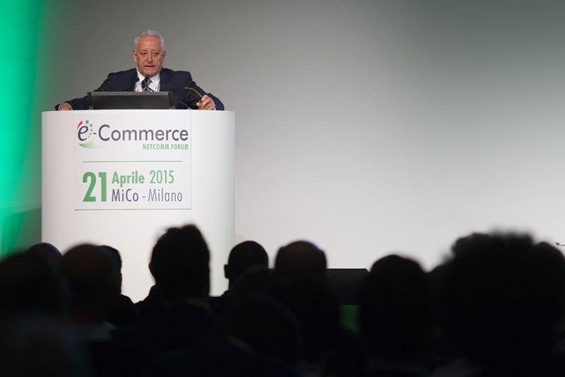Roberto Liscia, Presidente Netcomm, top speaker e-Commerce Forum