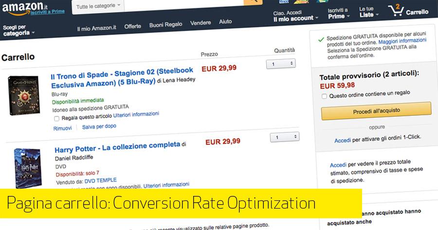 Carrello e-Commerce: come ottimizzare la pagina cruciale per le vendite online