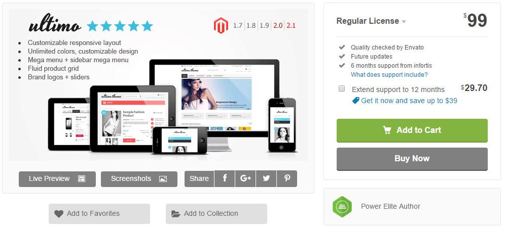 e-commerce: template premium
