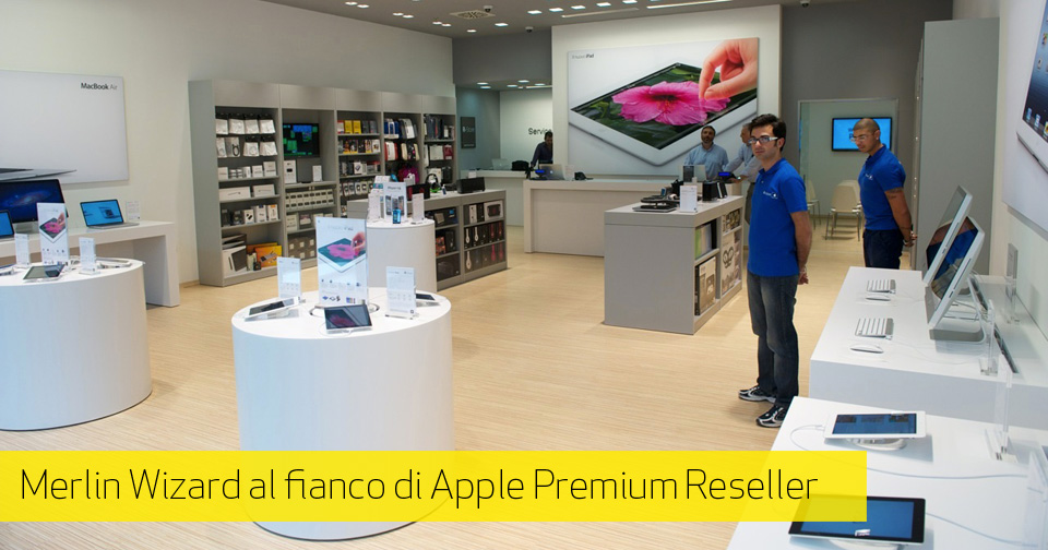 L'Apple Premium Reseller R-Store sceglie Merlin Wizard per l'e-Commerce Store Management