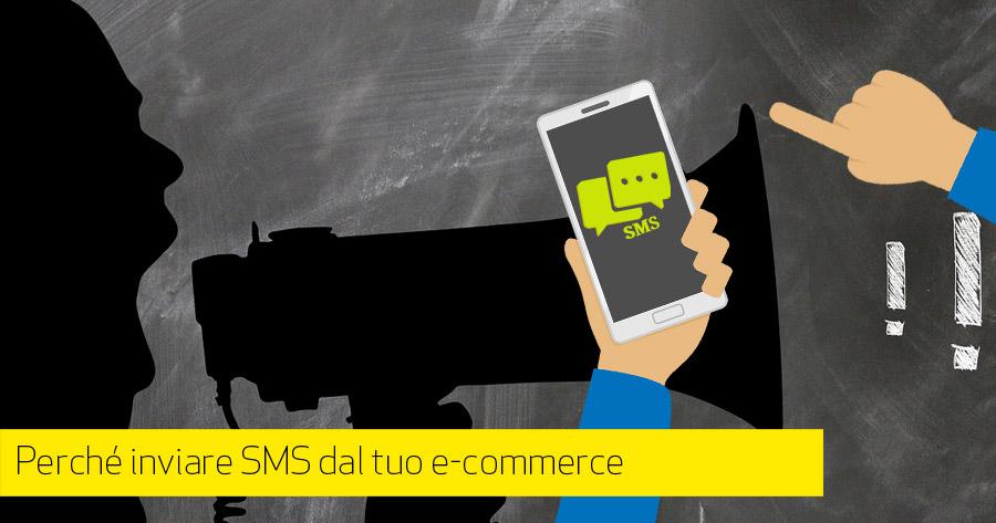 Inviare SMS dal tuo e-commerce