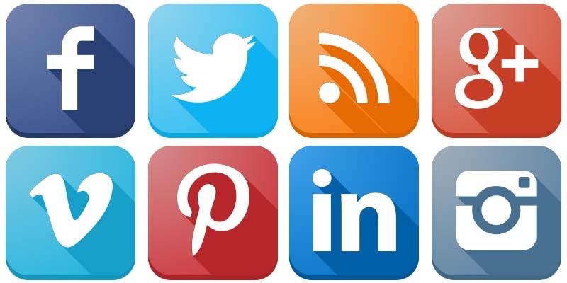 Content Marketing: social, loghi, socialnetwork