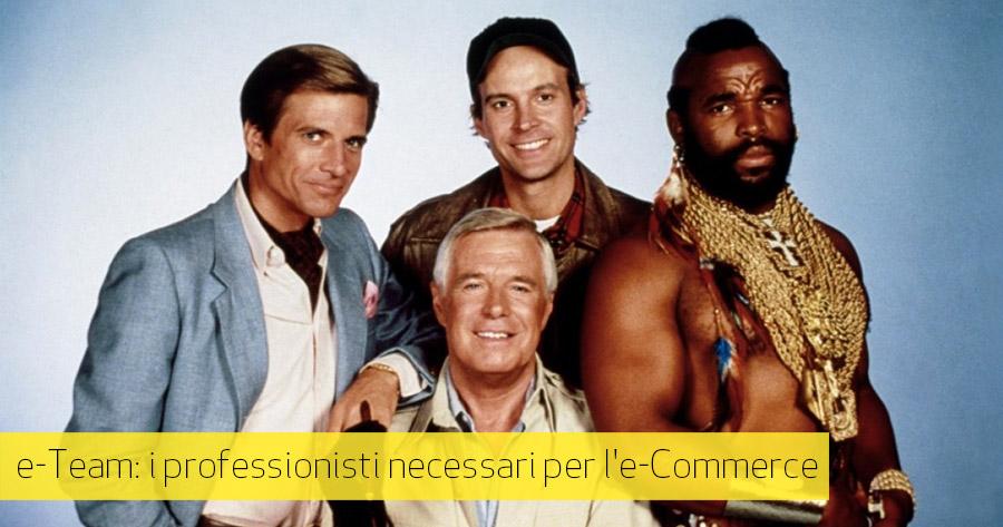 e-Commerce Team: i professionisti coinvolti nelle attività di uno shop