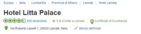 recensioni tripadvisor hotel litta palace