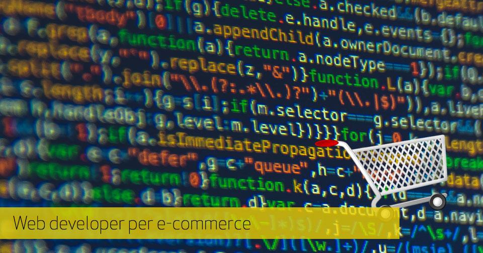Il lavoro del web developer per l'e-Commerce